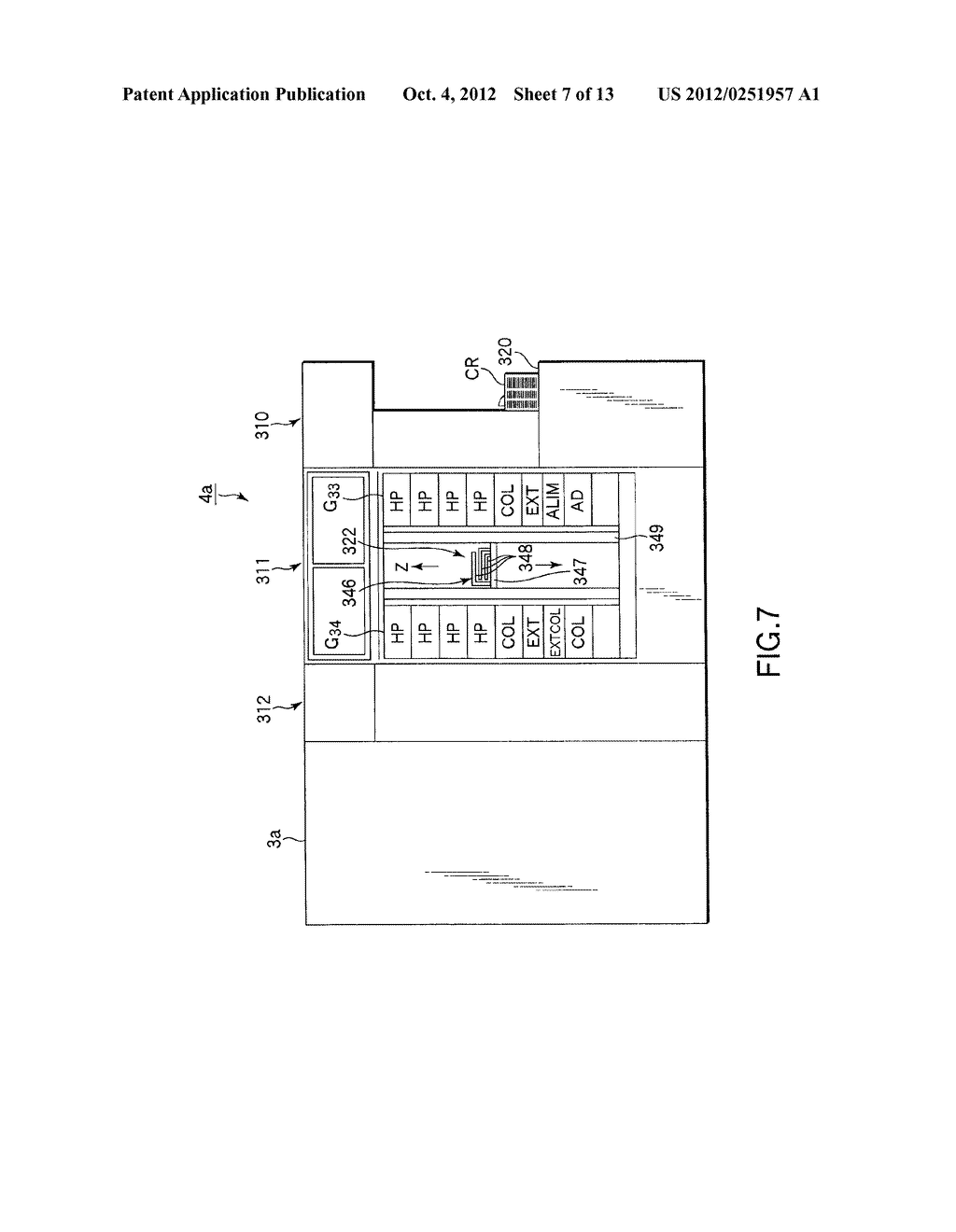 SUBSTRATE TRANSFER METHOD FOR PERFORMING PROCESSES INCLUDING     PHOTOLITHOGRAPHY SEQUENCE - diagram, schematic, and image 08