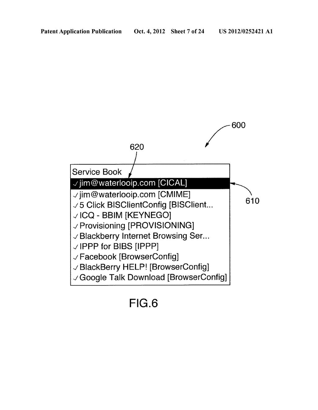SYSTEM AND METHOD FOR IDENTIFYING A CONTACT ASSOCIATED WITH AN ELECTRONIC     COMMUNICATION - diagram, schematic, and image 08