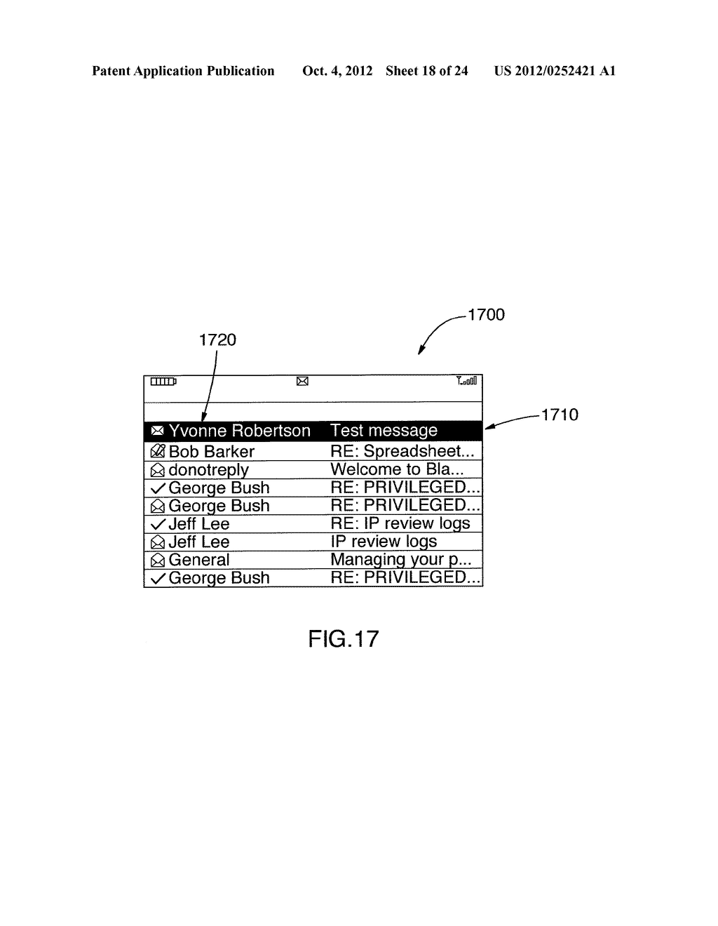 SYSTEM AND METHOD FOR IDENTIFYING A CONTACT ASSOCIATED WITH AN ELECTRONIC     COMMUNICATION - diagram, schematic, and image 19