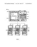 Gaming System Having Controllable Dynamic Signage diagram and image