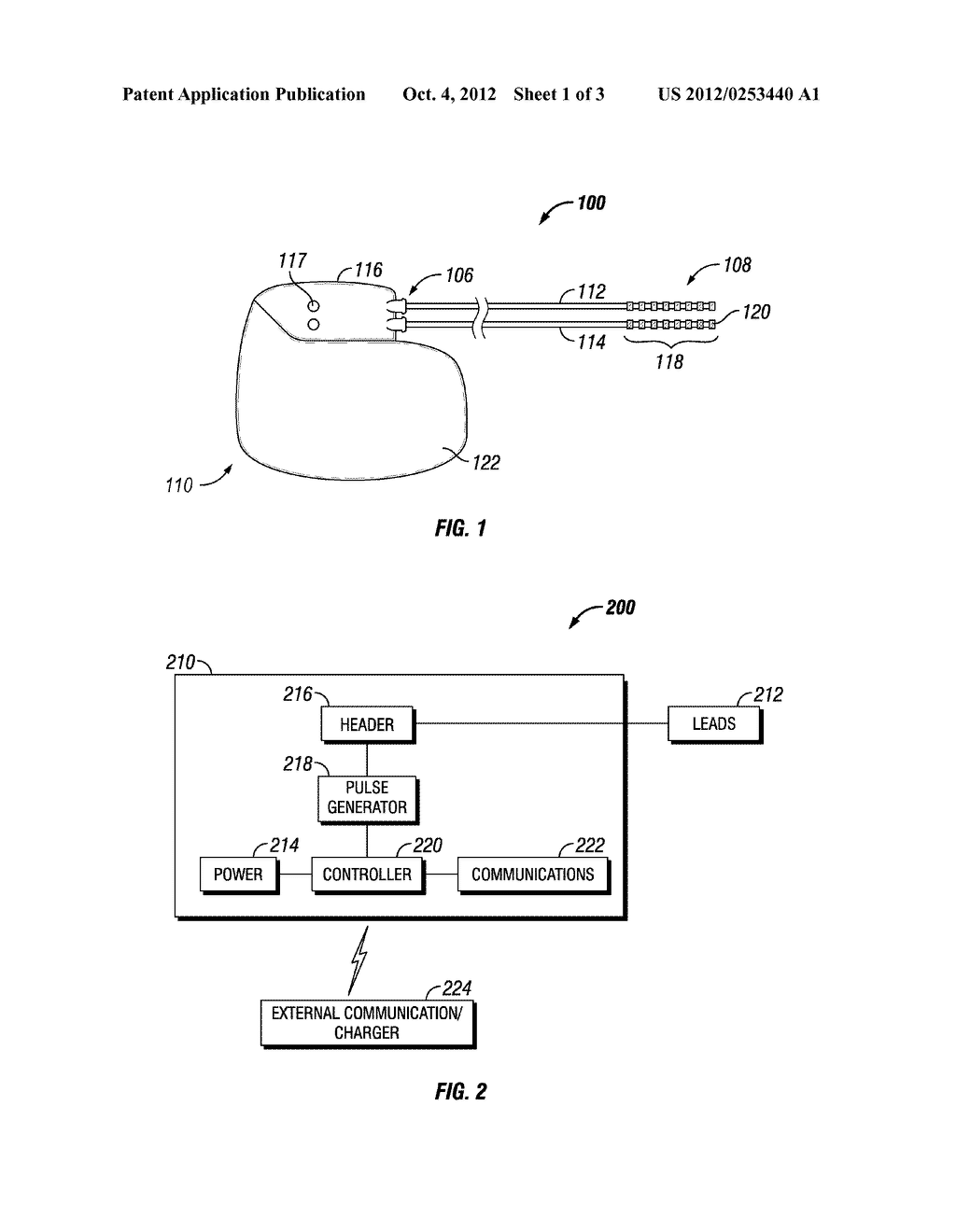 DEVICE AND METHOD FOR ENSURING THE PROPER INSERTION OF A LEAD INTO THE     HEADER OF AN IMPLANTABLE MEDICAL DEVICE - diagram, schematic, and image 02