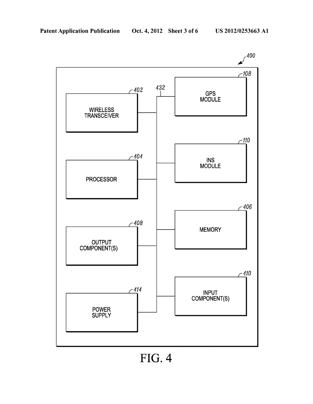 ELECTRONIC SYSTEM AND METHOD FOR PERSONAL NAVIGATION - diagram, schematic, and image 04