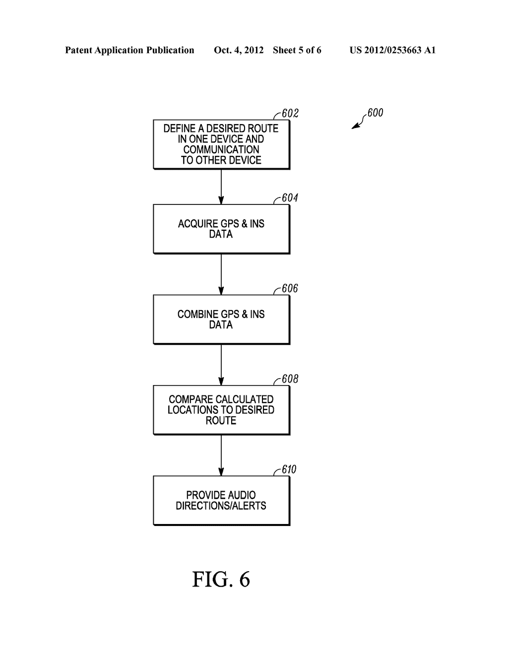 ELECTRONIC SYSTEM AND METHOD FOR PERSONAL NAVIGATION - diagram, schematic, and image 06