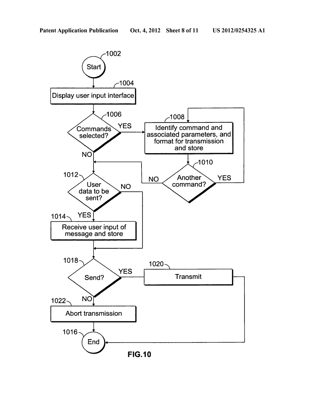 Automatic expiration of messages communicated to an end user communication     device - diagram, schematic, and image 09