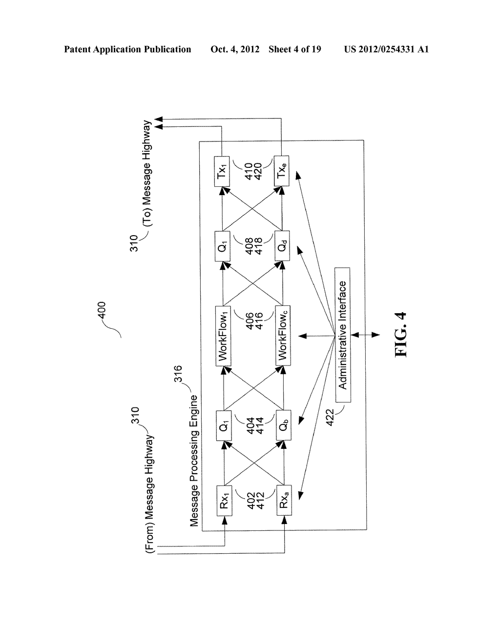 System and Method for Dynamic Throttling During Bulk Message Delivery - diagram, schematic, and image 05