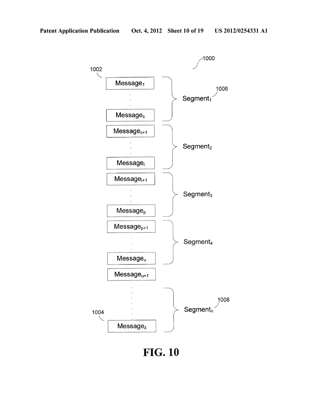 System and Method for Dynamic Throttling During Bulk Message Delivery - diagram, schematic, and image 11
