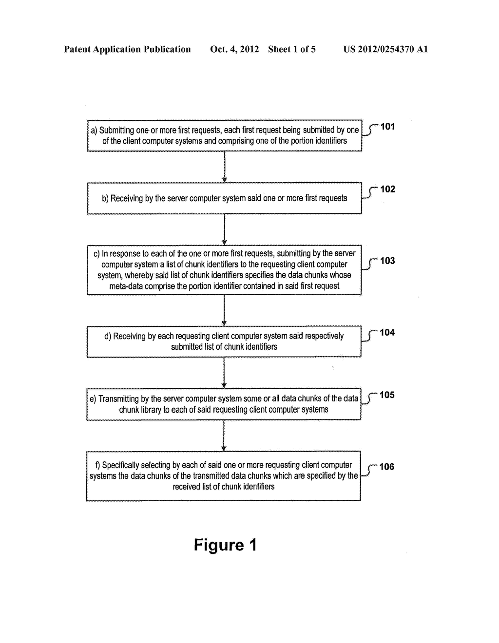 METHOD FOR DISTRIBUTING A PLURALITY OF DATA PORTIONS - diagram, schematic, and image 02