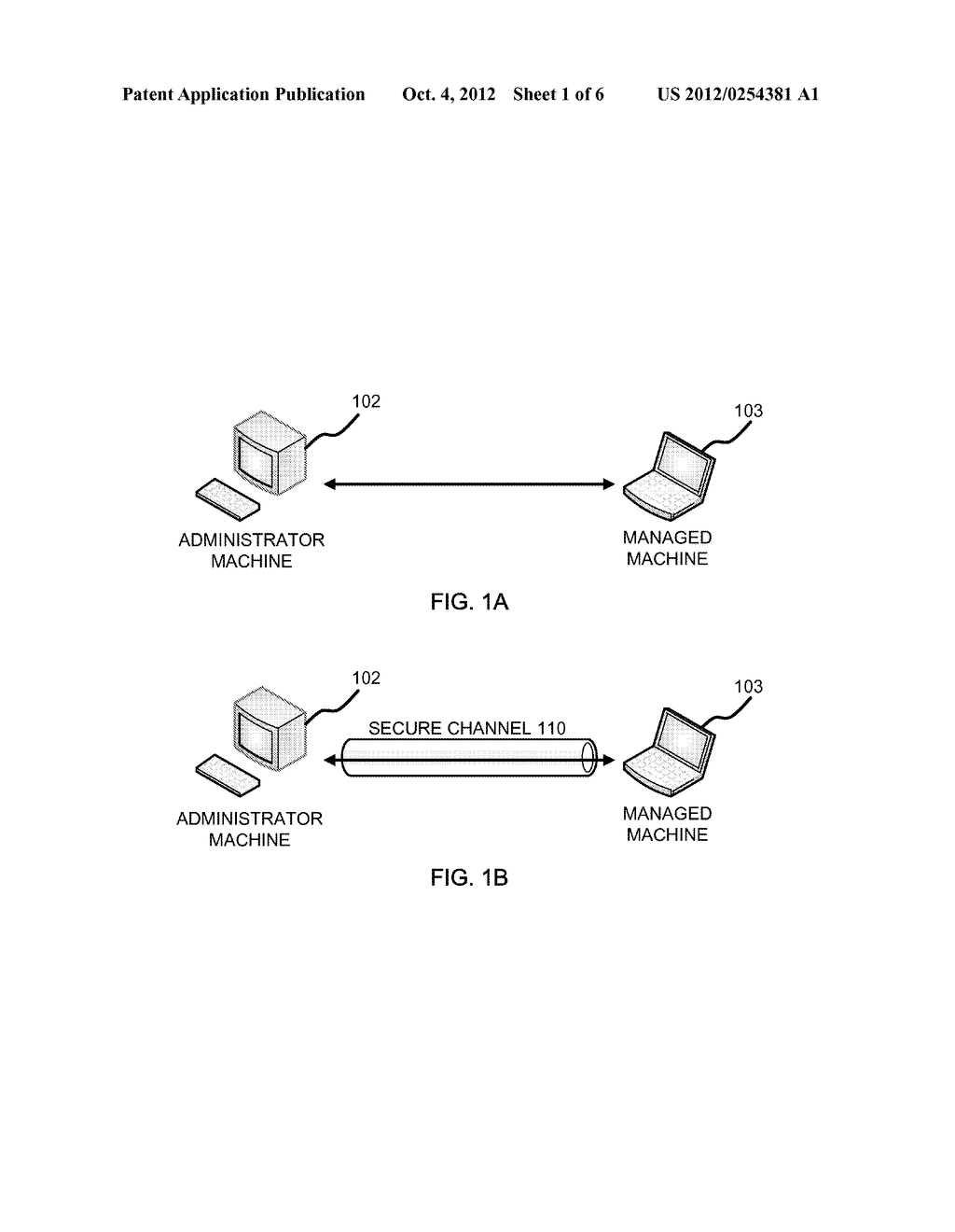 METHOD AND APPARATUS OF CAPTURING A SCREEN IMAGE OF A REMOTELY MANAGED     MACHINE - diagram, schematic, and image 02