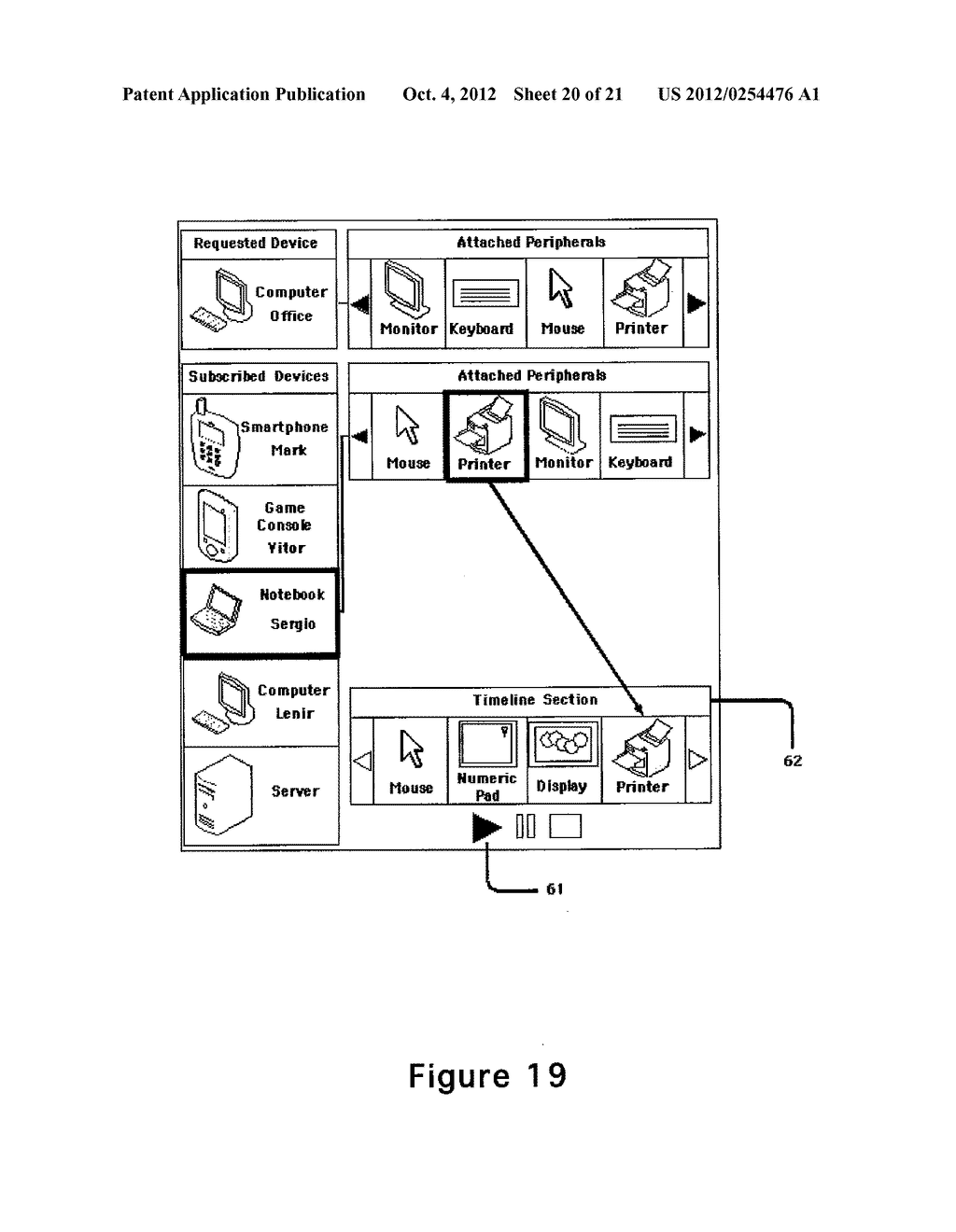 SYSTEM FOR CONTROLLING INPUT AND OUTPUT RESOURCES FOR ADDRESSABLE DEVICES - diagram, schematic, and image 21