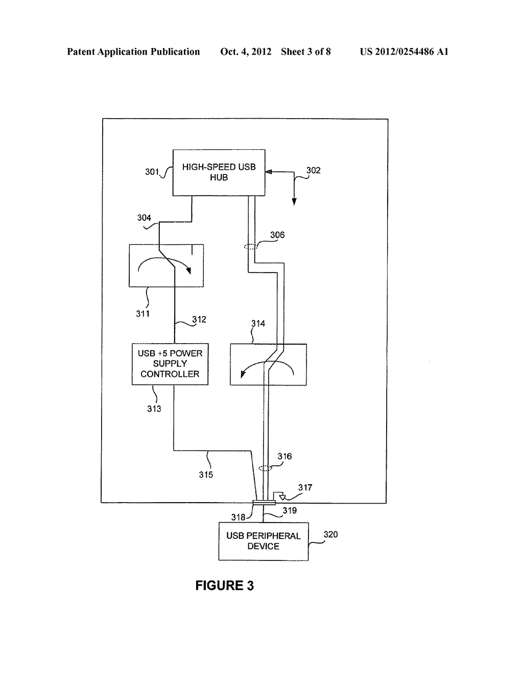 USB PERIPHERAL DEVICE COMPRISING LIMITED FUNCTION USB HOST CONTROLLER - diagram, schematic, and image 04