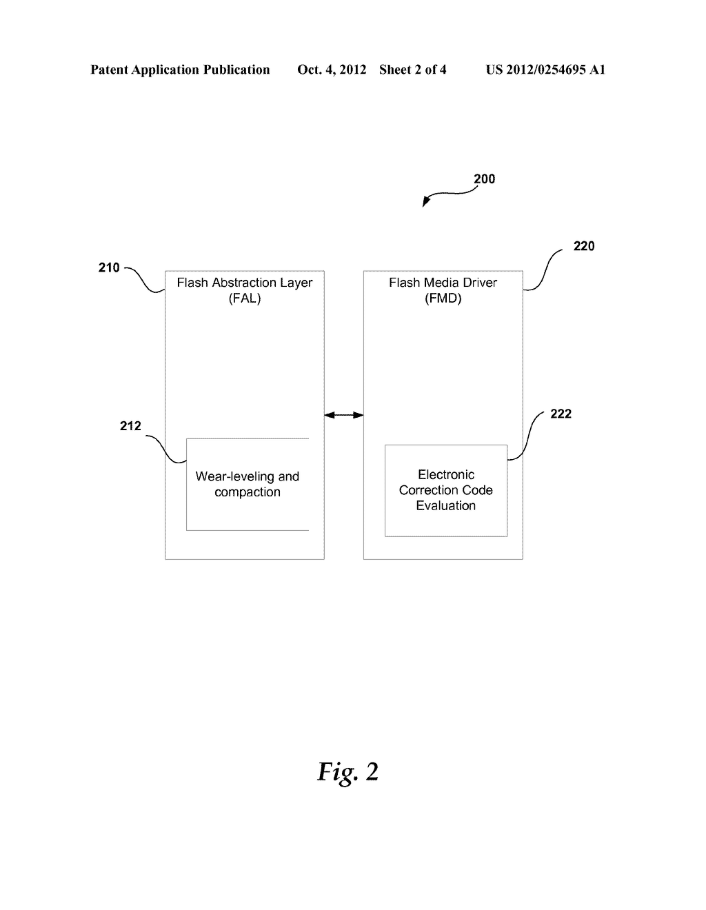 DYNAMIC ELECTRONIC CORRECTION CODE FEEDBACK TO EXTEND MEMORY DEVICE     LIFETIME - diagram, schematic, and image 03