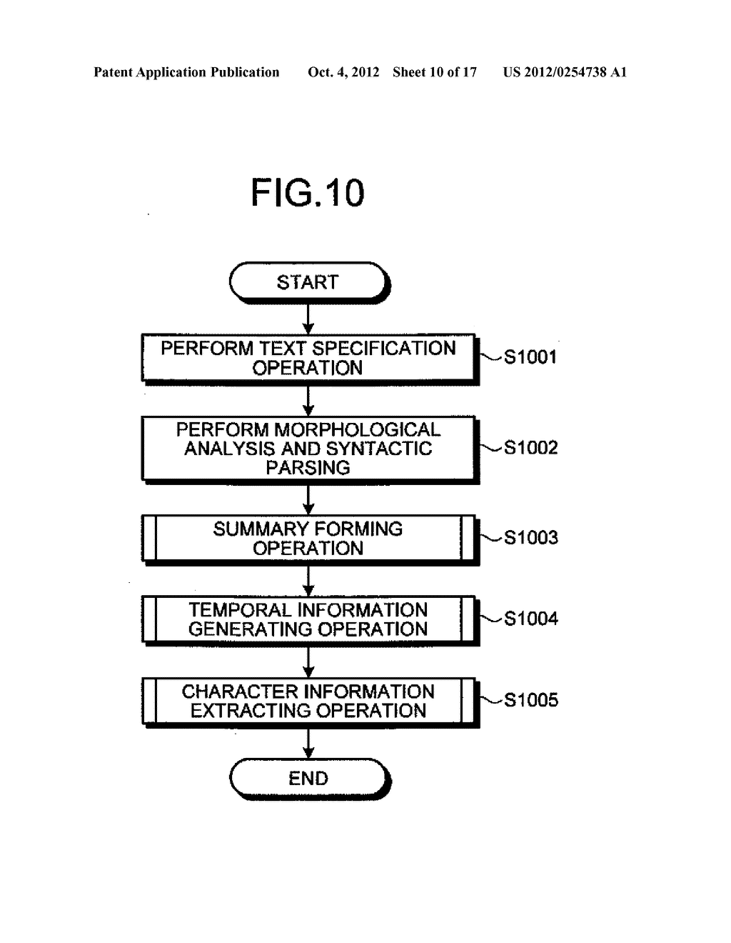 TIME-SERIES INFORMATION GENERATING APPARATUS AND TIME-SERIES INFORMATION     GENERATING METHOD - diagram, schematic, and image 11