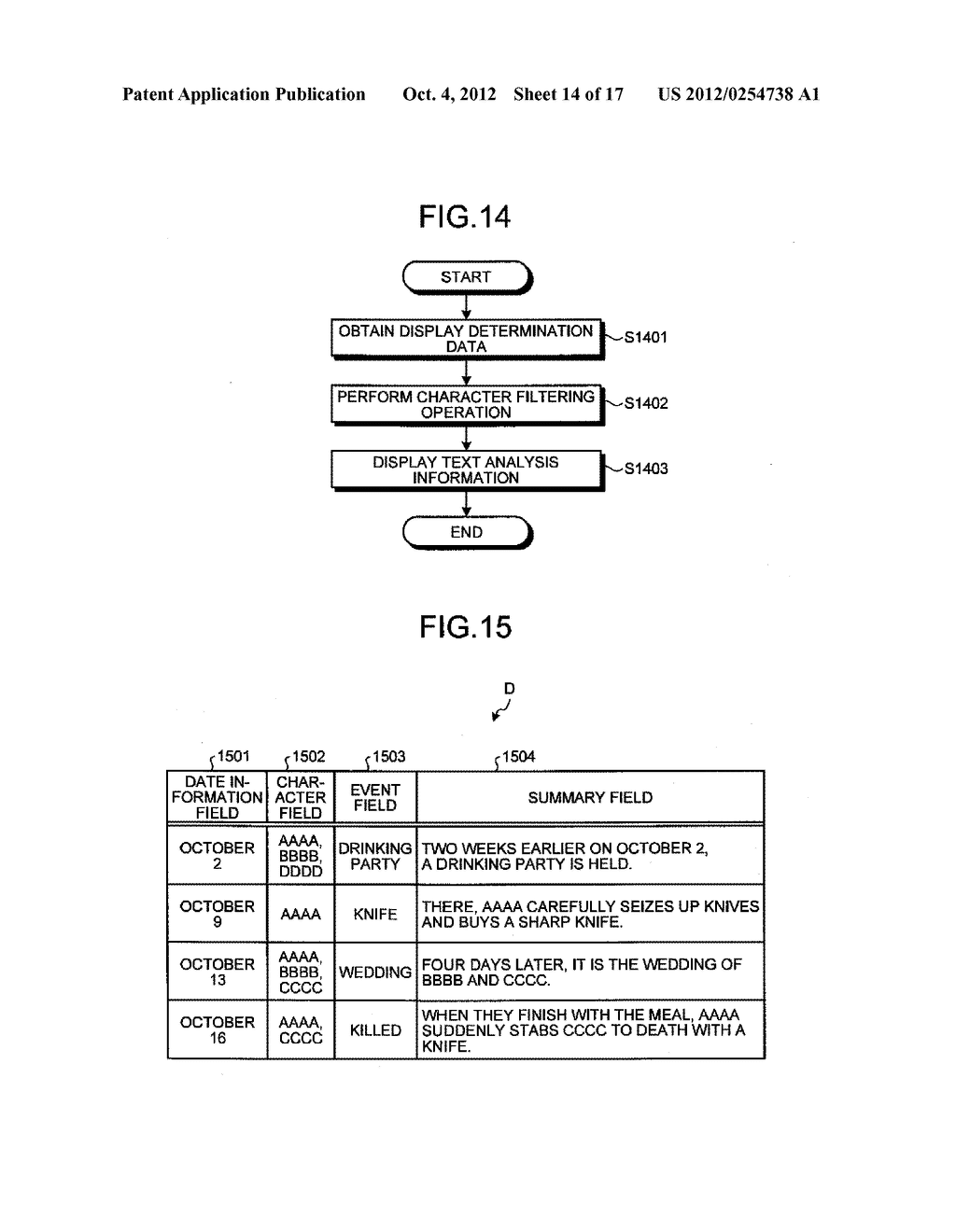 TIME-SERIES INFORMATION GENERATING APPARATUS AND TIME-SERIES INFORMATION     GENERATING METHOD - diagram, schematic, and image 15