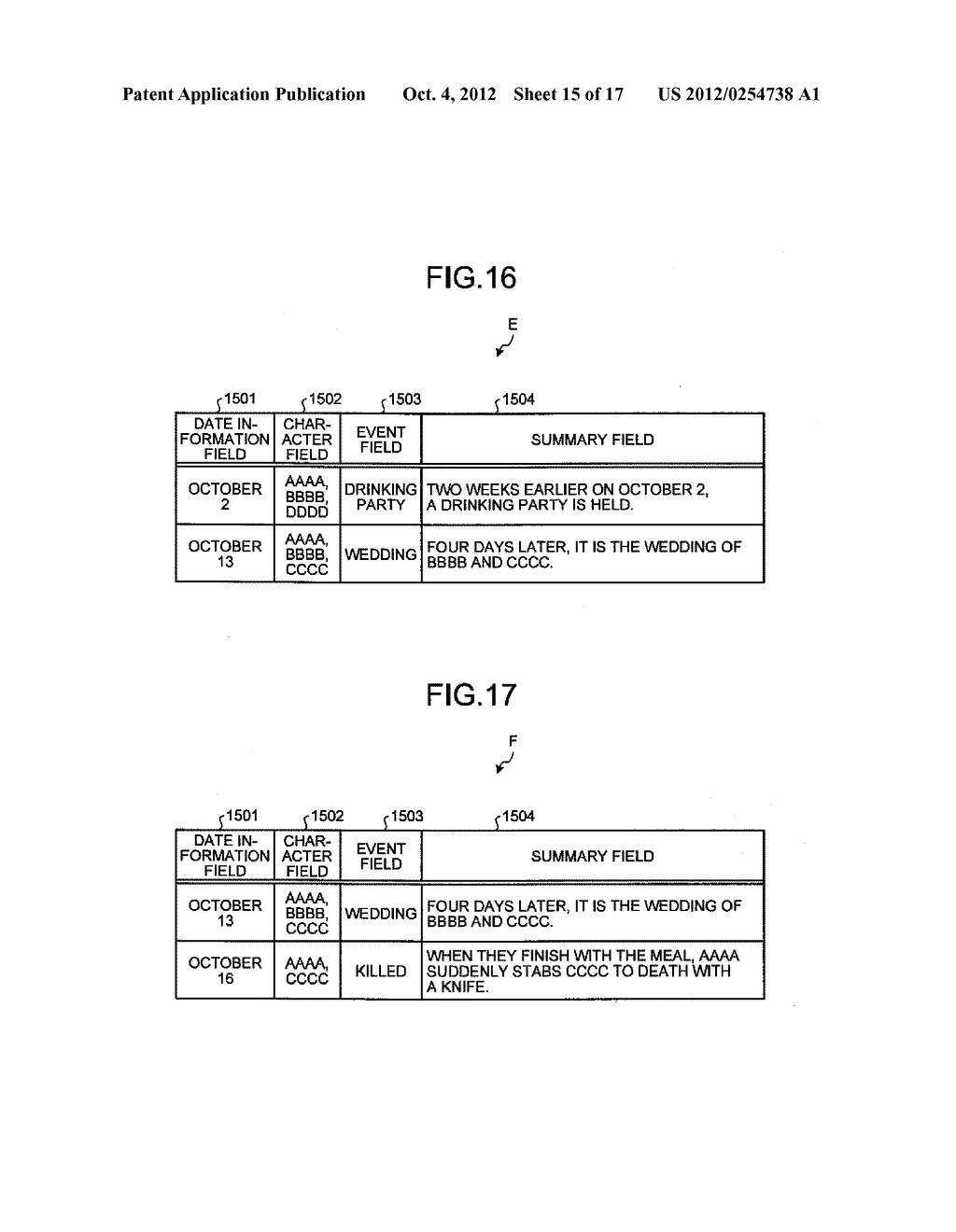 TIME-SERIES INFORMATION GENERATING APPARATUS AND TIME-SERIES INFORMATION     GENERATING METHOD - diagram, schematic, and image 16