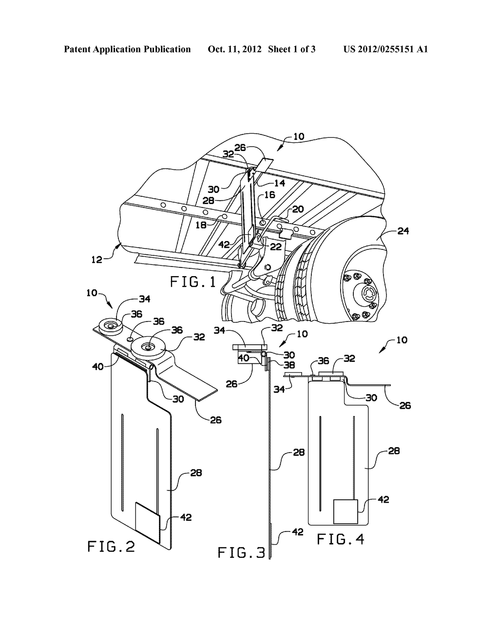 METHOD AND APPARATUS FOR REPOSITIONING A TANDEM AXLE ASSEMBLY OF A TRAILER - diagram, schematic, and image 02