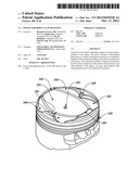 PISTON FOR ROBUST AUTO-IGNITION diagram and image