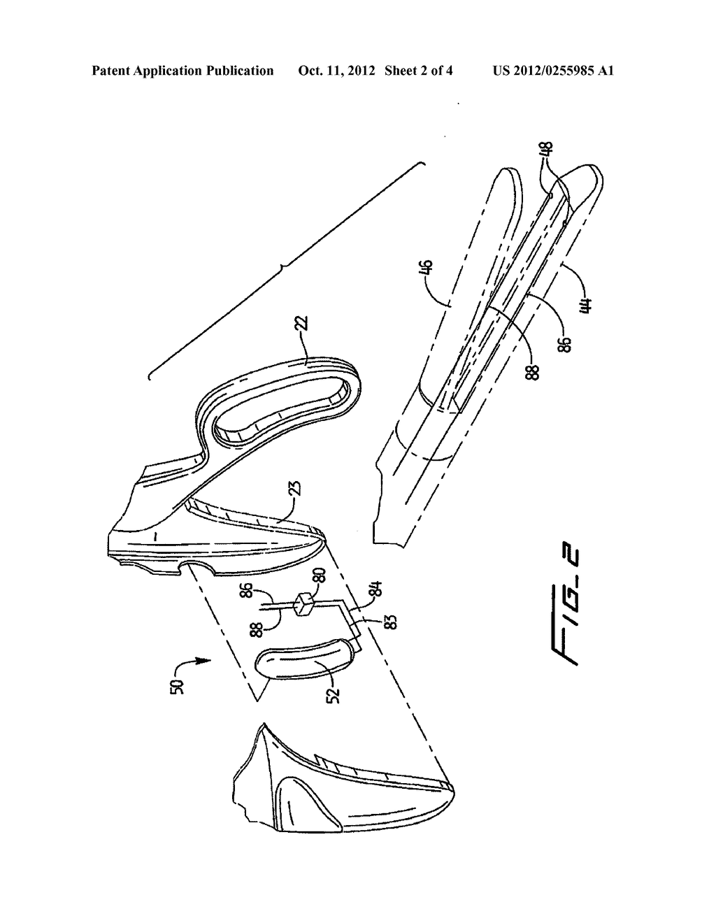 SURGICAL STAPLER WITH TACTILE FEEDBACK SYSTEM - diagram, schematic, and image 03