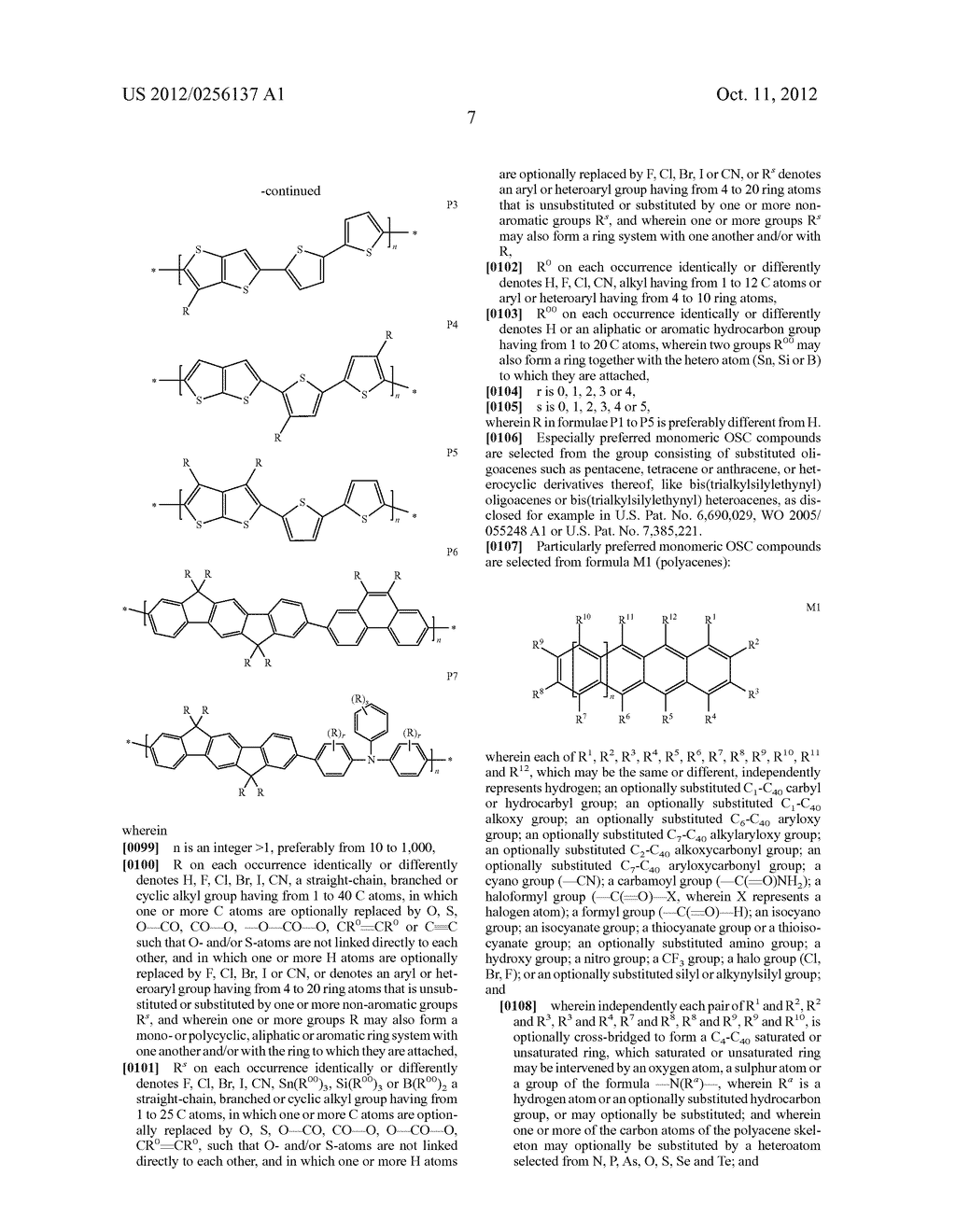 COMPOSITIONS COMPRISING ORGANIC SEMICONDUCTING COMPOUNDS - diagram, schematic, and image 18