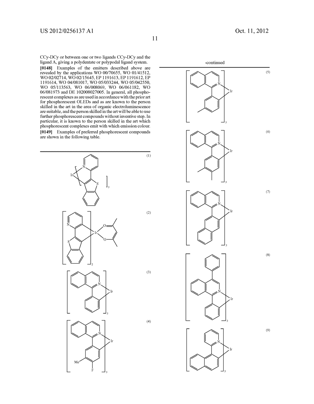 COMPOSITIONS COMPRISING ORGANIC SEMICONDUCTING COMPOUNDS - diagram, schematic, and image 22