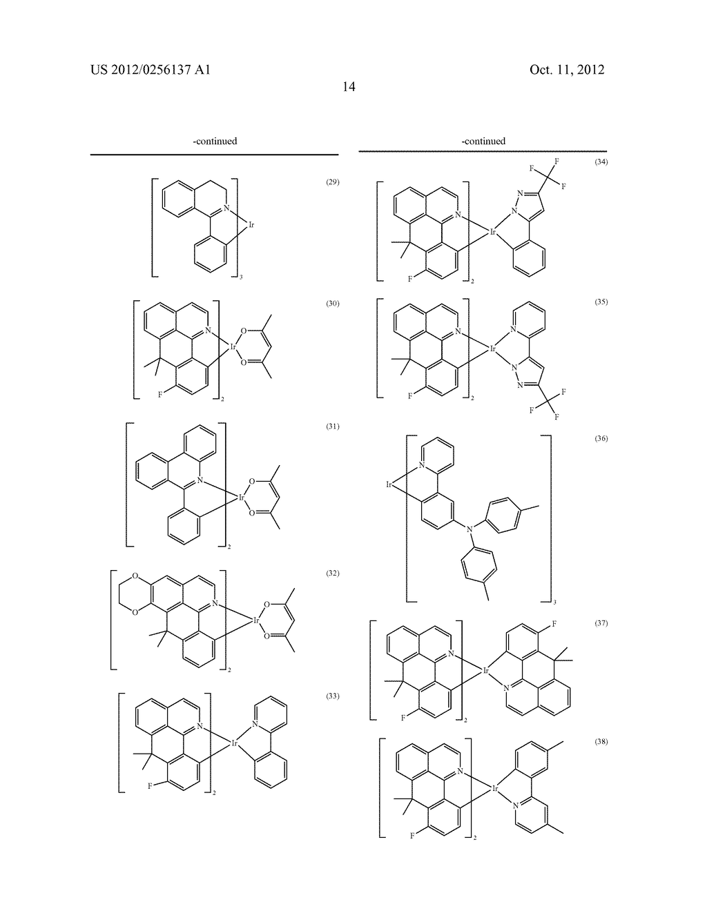 COMPOSITIONS COMPRISING ORGANIC SEMICONDUCTING COMPOUNDS - diagram, schematic, and image 25