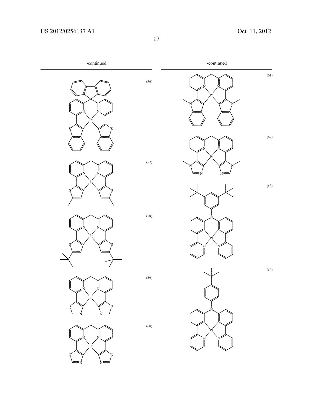 COMPOSITIONS COMPRISING ORGANIC SEMICONDUCTING COMPOUNDS - diagram, schematic, and image 28