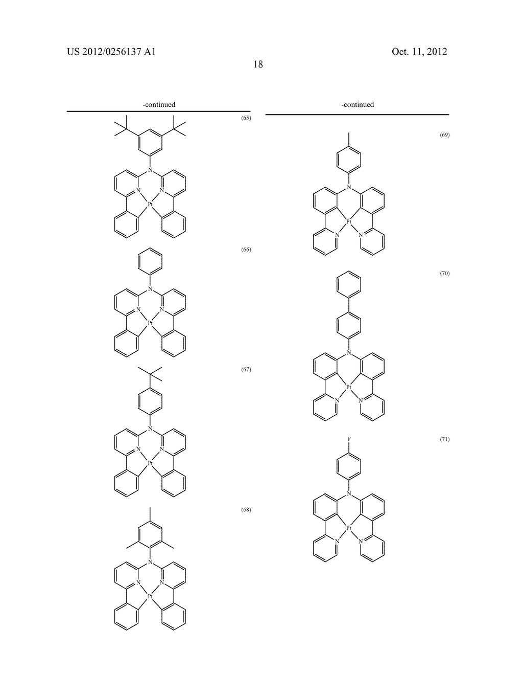 COMPOSITIONS COMPRISING ORGANIC SEMICONDUCTING COMPOUNDS - diagram, schematic, and image 29