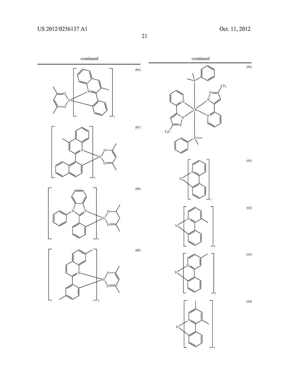 COMPOSITIONS COMPRISING ORGANIC SEMICONDUCTING COMPOUNDS - diagram, schematic, and image 32