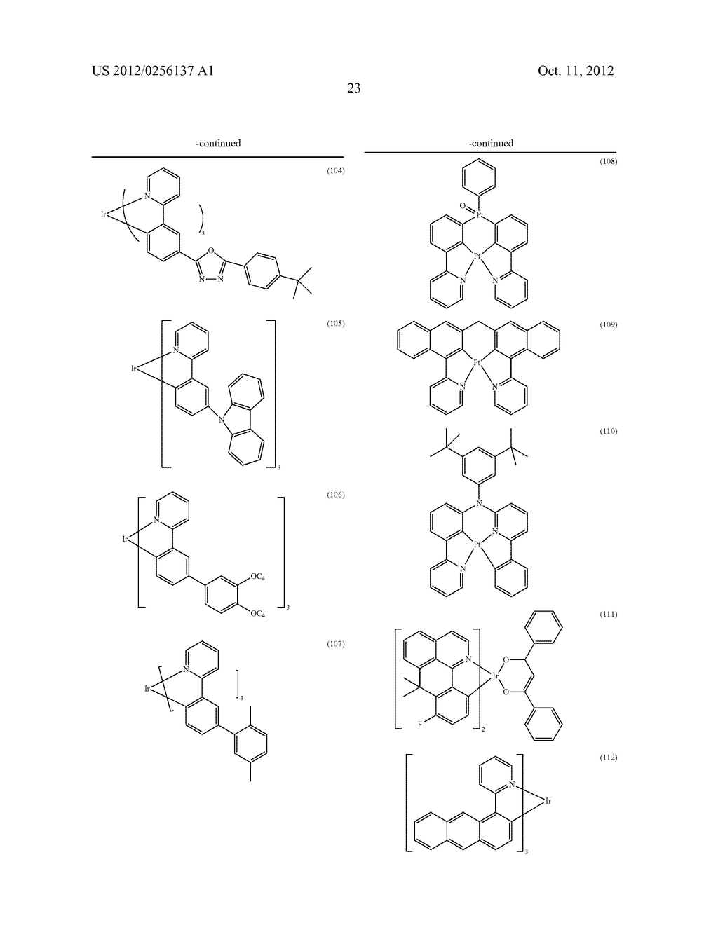 COMPOSITIONS COMPRISING ORGANIC SEMICONDUCTING COMPOUNDS - diagram, schematic, and image 34