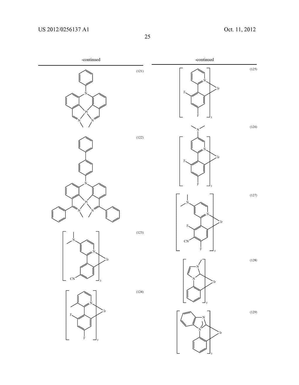COMPOSITIONS COMPRISING ORGANIC SEMICONDUCTING COMPOUNDS - diagram, schematic, and image 36