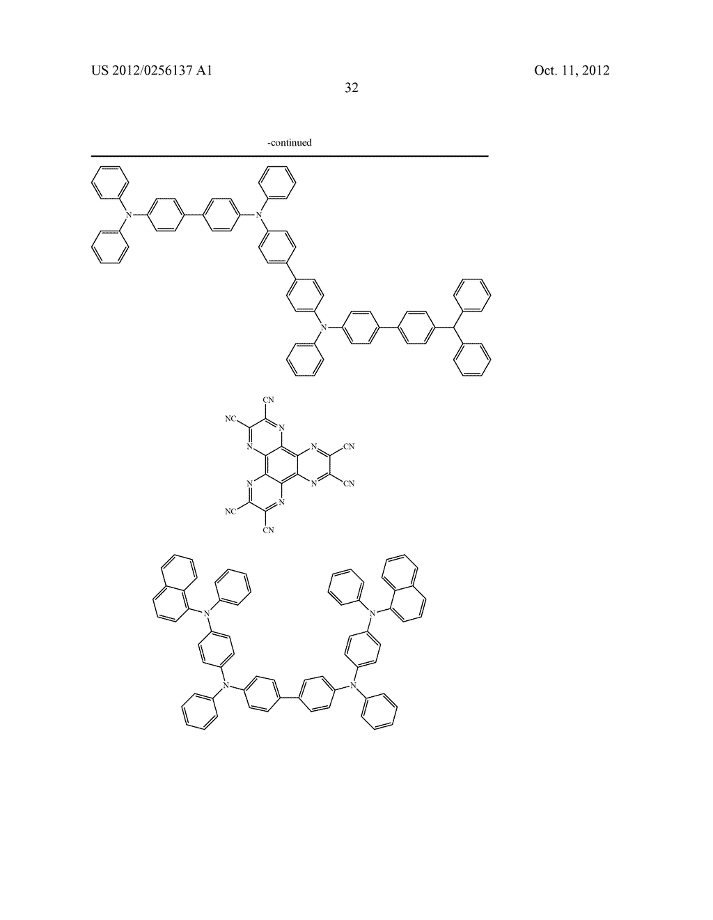 COMPOSITIONS COMPRISING ORGANIC SEMICONDUCTING COMPOUNDS - diagram, schematic, and image 43
