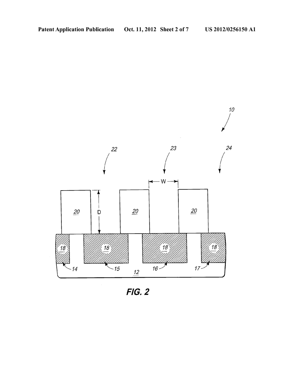 Integrated Circuitry, Methods of Forming Memory Cells, and Methods of     Patterning Platinum-Containing Material - diagram, schematic, and image 03