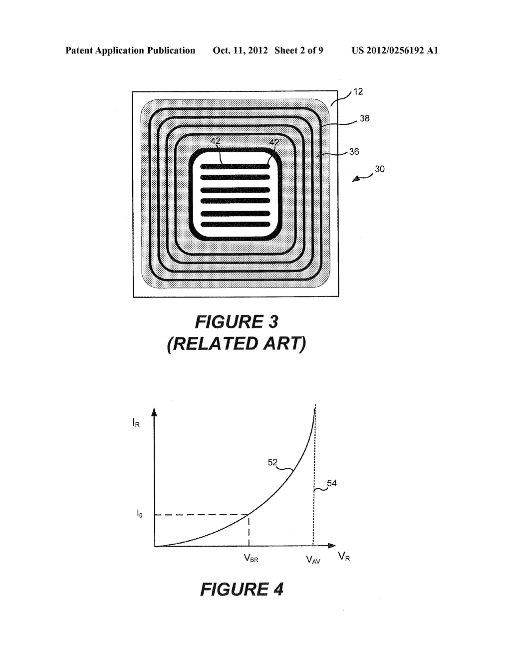 RECESSED TERMINATION STRUCTURES AND METHODS OF FABRICATING ELECTRONIC     DEVICES INCLUDING RECESSED TERMINATION STRUCTURES - diagram, schematic, and image 03