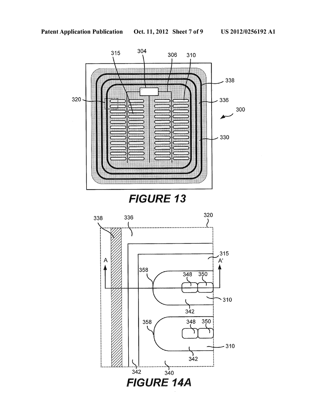 RECESSED TERMINATION STRUCTURES AND METHODS OF FABRICATING ELECTRONIC     DEVICES INCLUDING RECESSED TERMINATION STRUCTURES - diagram, schematic, and image 08