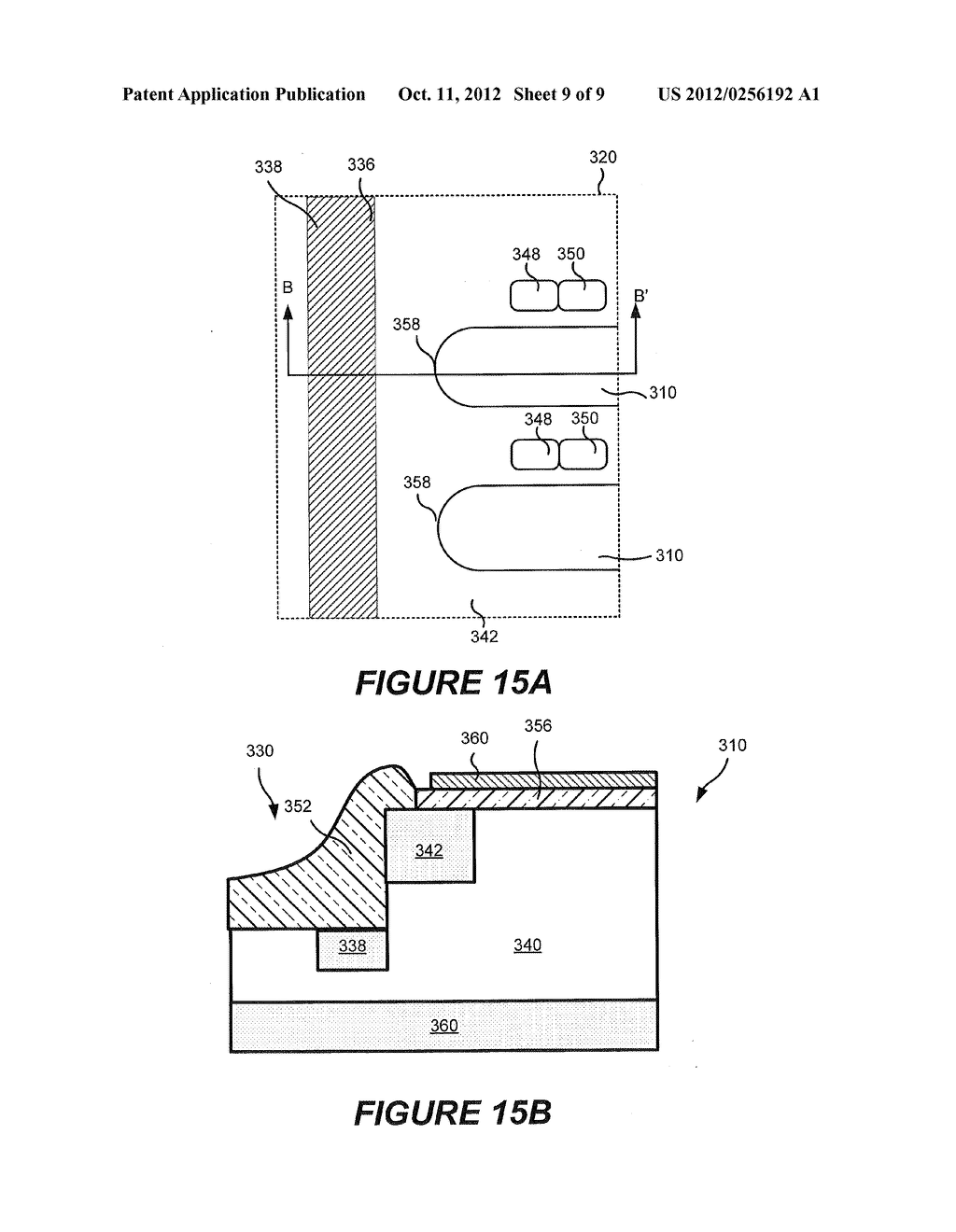 RECESSED TERMINATION STRUCTURES AND METHODS OF FABRICATING ELECTRONIC     DEVICES INCLUDING RECESSED TERMINATION STRUCTURES - diagram, schematic, and image 10