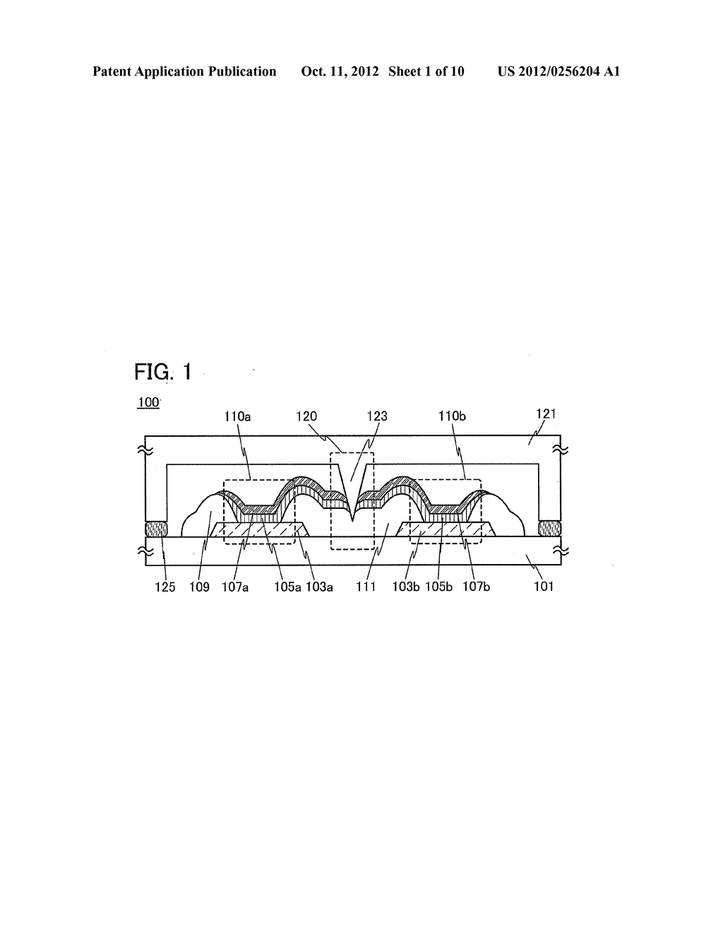 Light-Emitting Device and a Method of Manufacturing Light-Emitting Device - diagram, schematic, and image 02