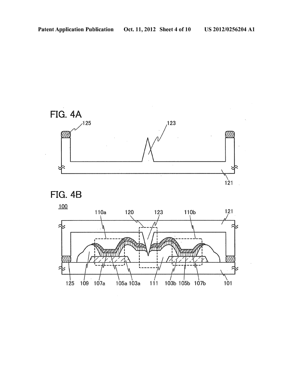 Light-Emitting Device and a Method of Manufacturing Light-Emitting Device - diagram, schematic, and image 05