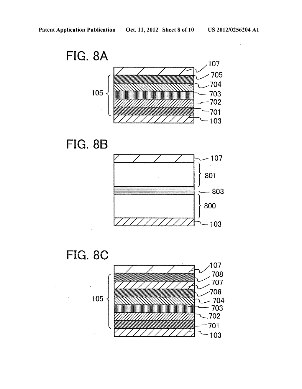 Light-Emitting Device and a Method of Manufacturing Light-Emitting Device - diagram, schematic, and image 09