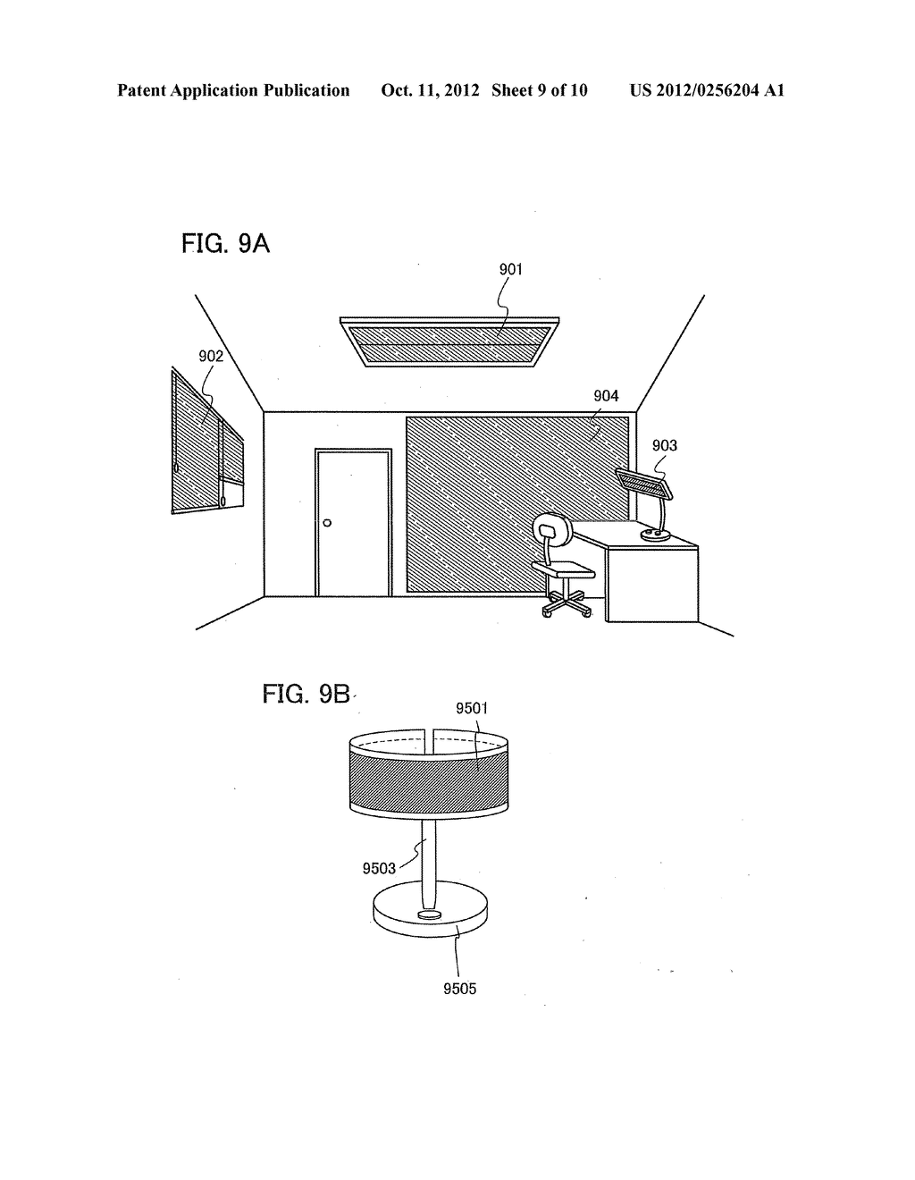 Light-Emitting Device and a Method of Manufacturing Light-Emitting Device - diagram, schematic, and image 10