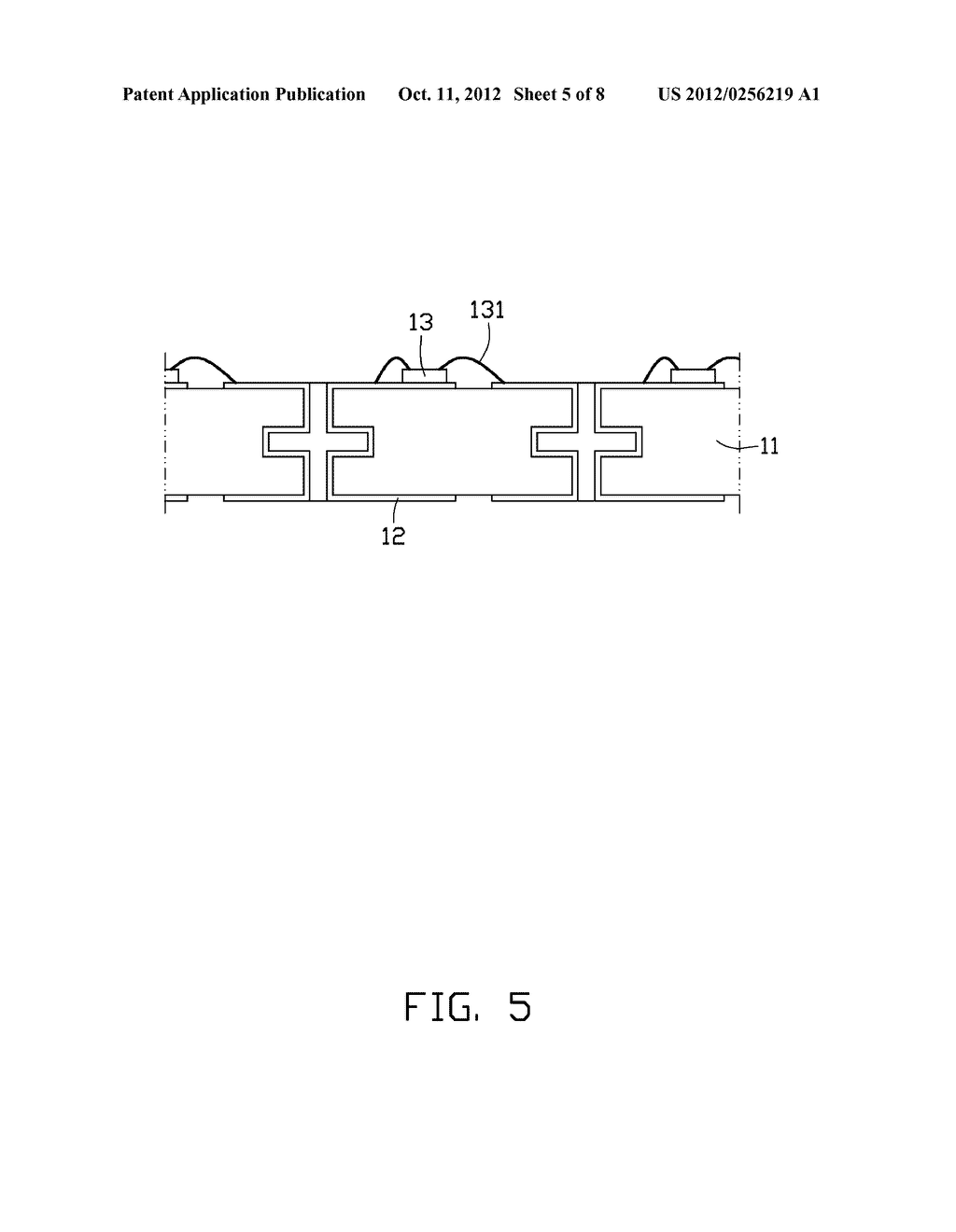 LIGHT EMITTING DIODE PACKAGE AND METHOD OF MANUFACTURING THE SAME - diagram, schematic, and image 06