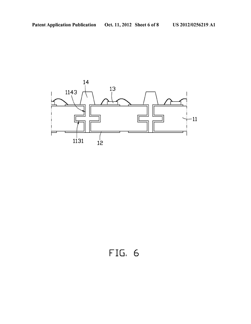 LIGHT EMITTING DIODE PACKAGE AND METHOD OF MANUFACTURING THE SAME - diagram, schematic, and image 07