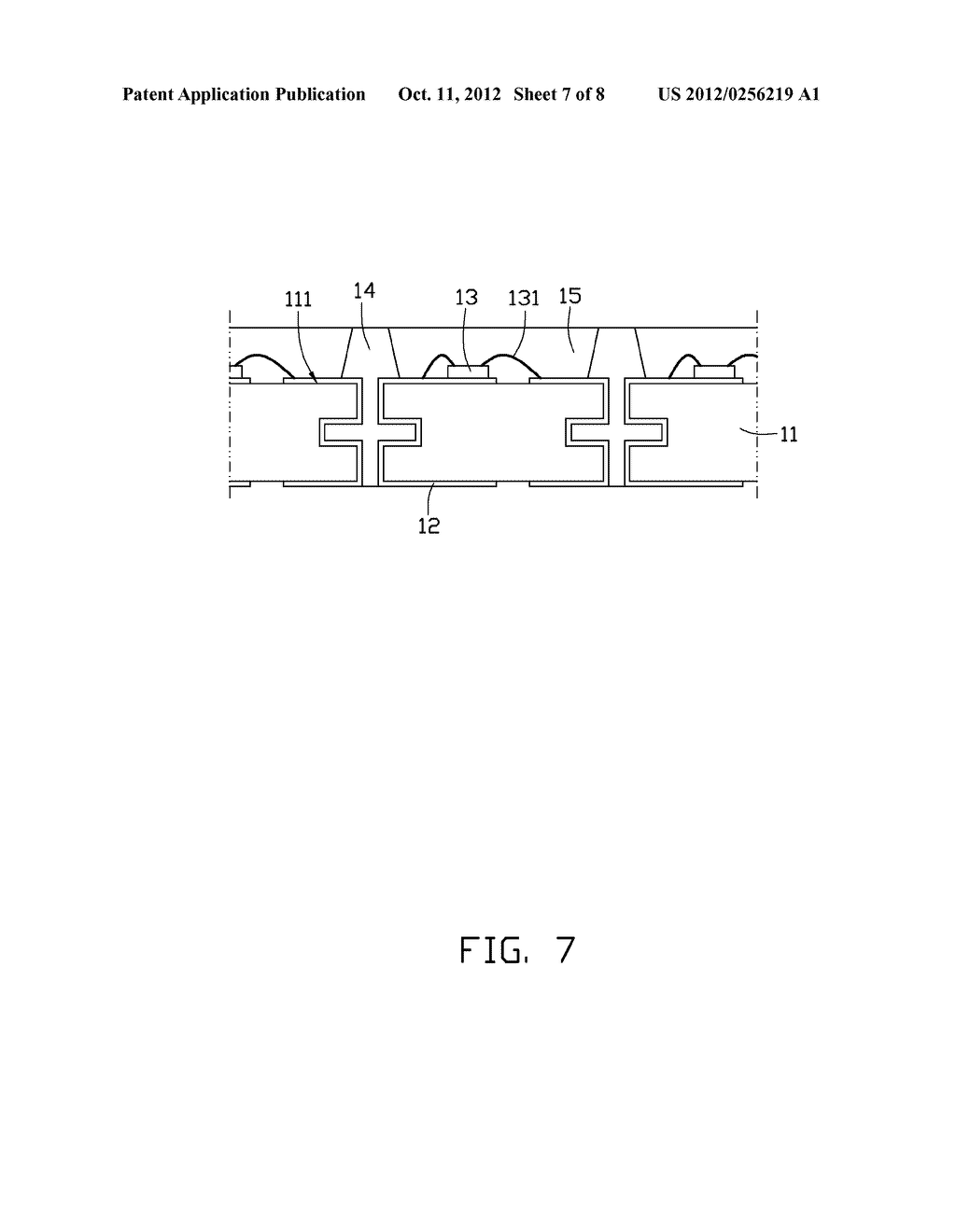 LIGHT EMITTING DIODE PACKAGE AND METHOD OF MANUFACTURING THE SAME - diagram, schematic, and image 08
