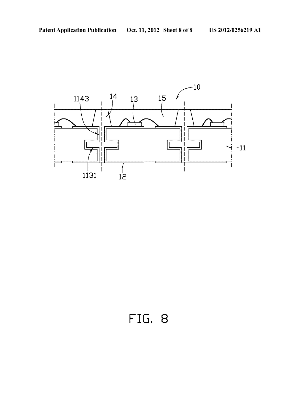 LIGHT EMITTING DIODE PACKAGE AND METHOD OF MANUFACTURING THE SAME - diagram, schematic, and image 09