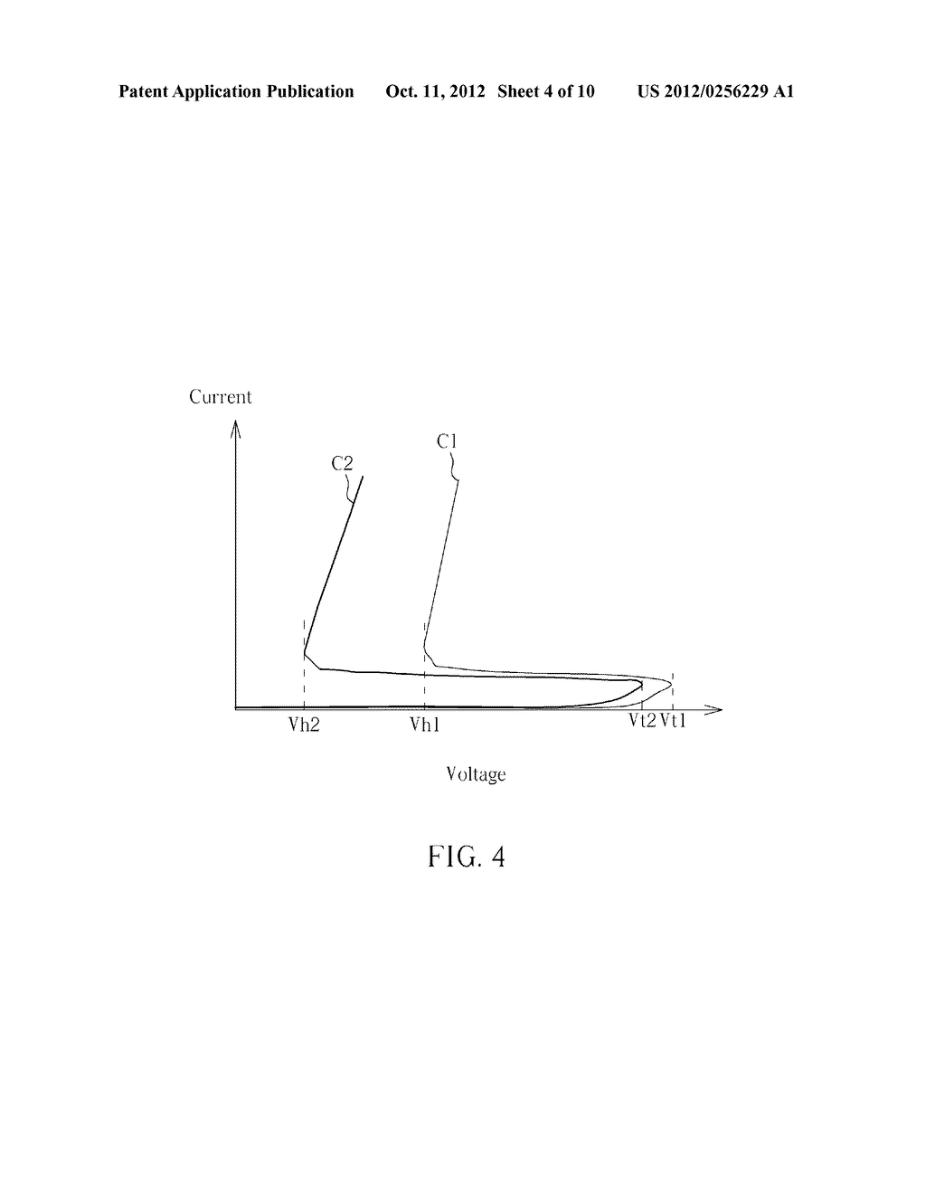 Electrostatic discharge protection device and Electrostatic discharge     protection circuit thereof - diagram, schematic, and image 05