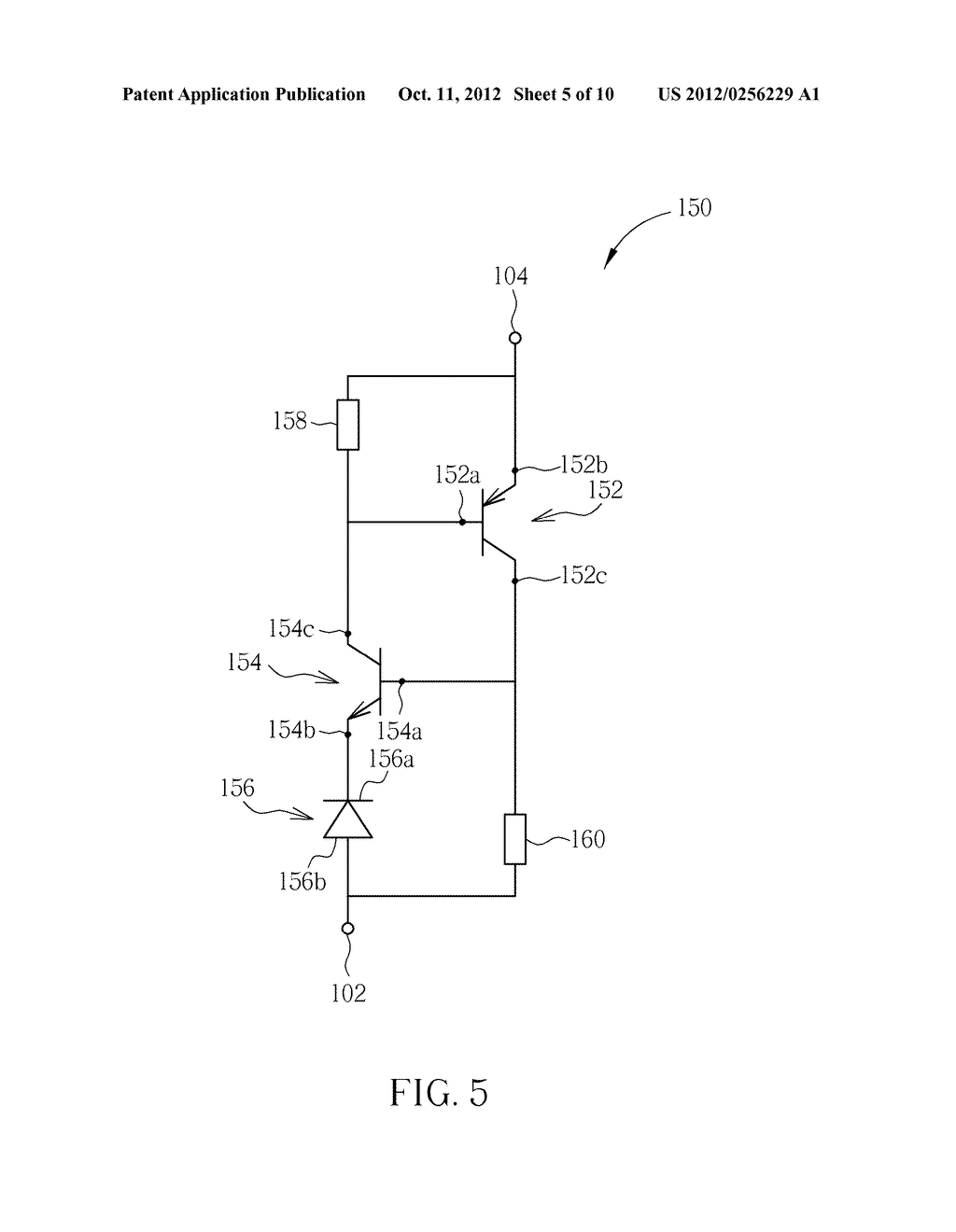Electrostatic discharge protection device and Electrostatic discharge     protection circuit thereof - diagram, schematic, and image 06
