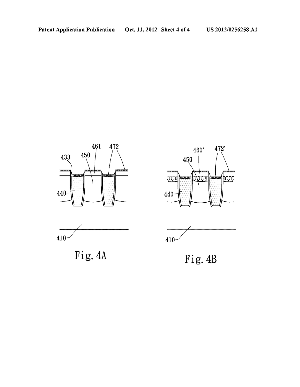 TRENCH POWER MOSFET STRUCTURE WITH HIGH CELL DENSITY AND FABRICATION     METHOD THEREOF - diagram, schematic, and image 05