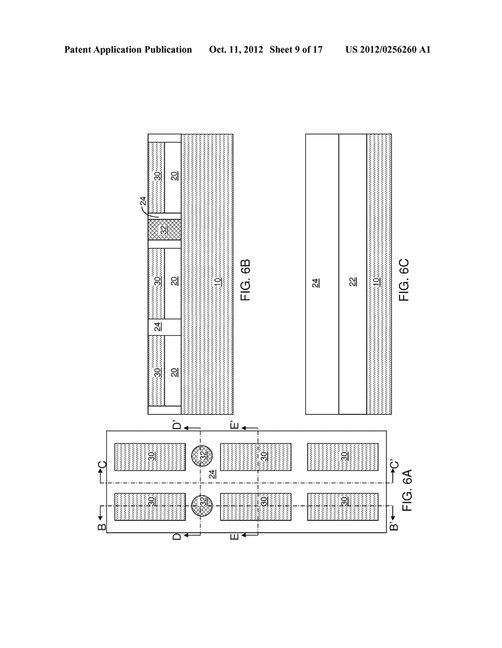 DUAL-DEPTH SELF-ALIGNED ISOLATION STRUCTURE FOR A BACK GATE ELECTRODE - diagram, schematic, and image 10
