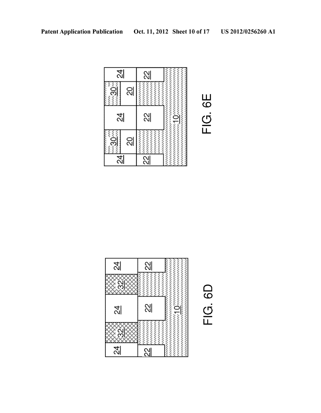 DUAL-DEPTH SELF-ALIGNED ISOLATION STRUCTURE FOR A BACK GATE ELECTRODE - diagram, schematic, and image 11
