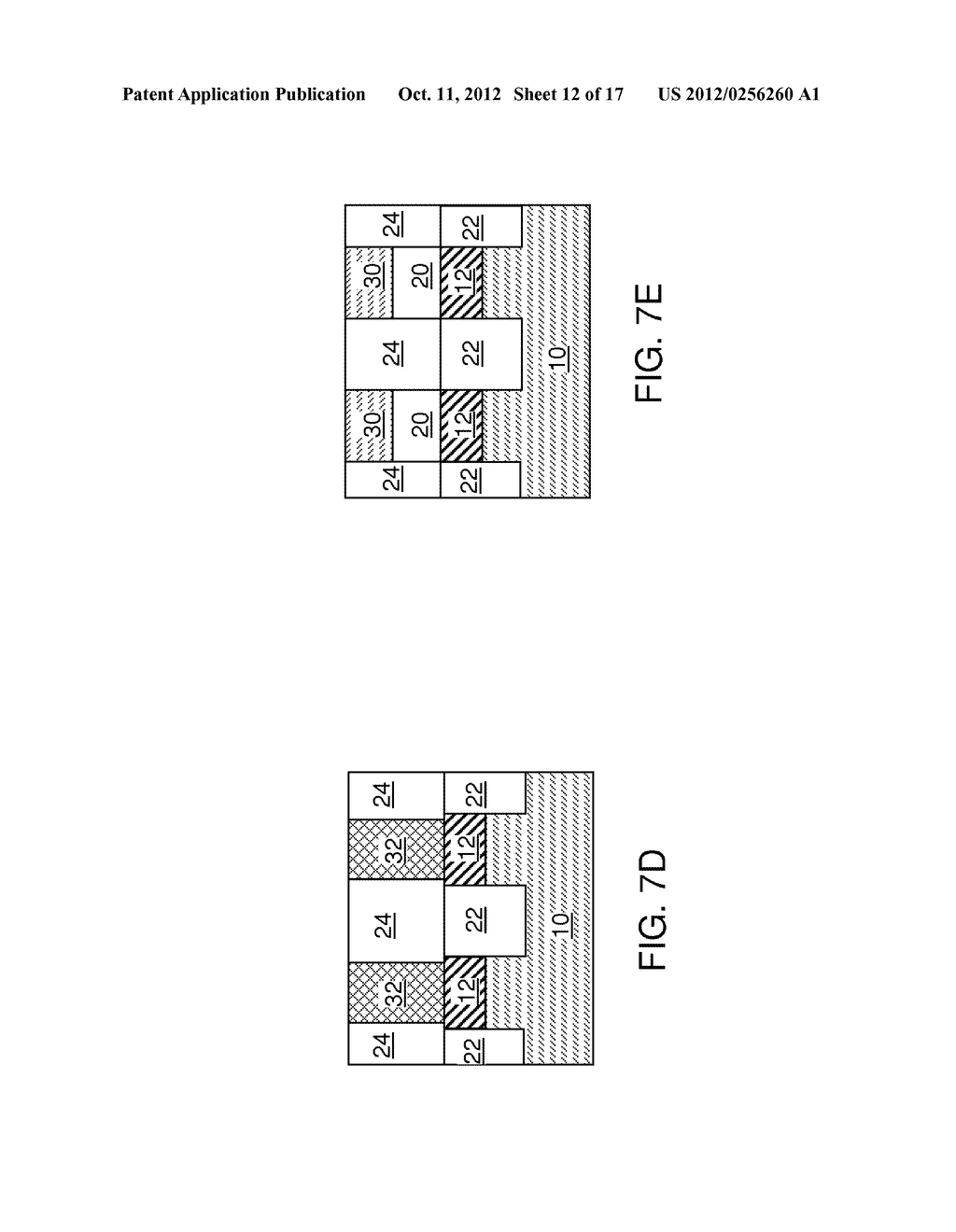 DUAL-DEPTH SELF-ALIGNED ISOLATION STRUCTURE FOR A BACK GATE ELECTRODE - diagram, schematic, and image 13