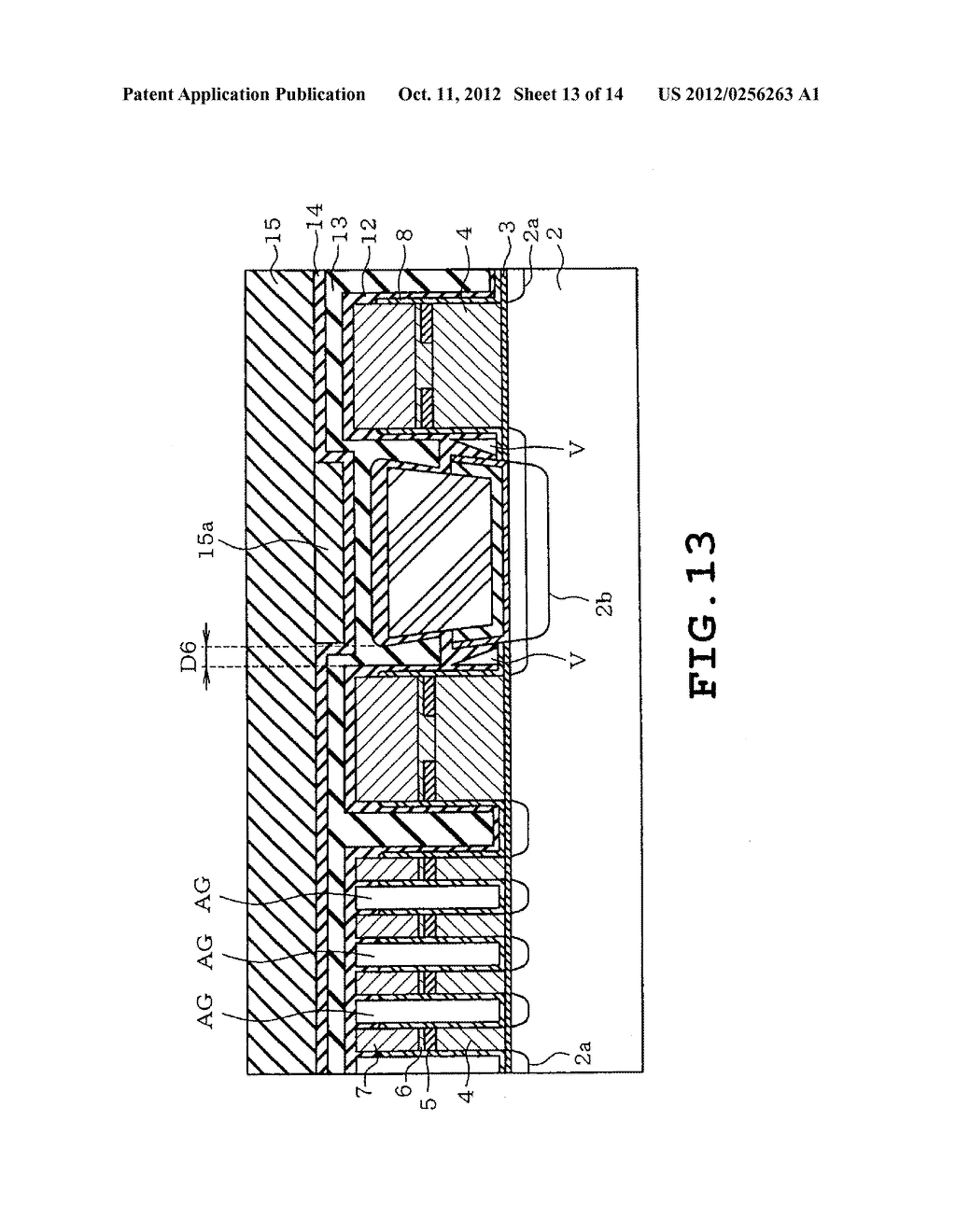 SEMICONDUCTOR STORAGE DEVICE AND METHOD OF MANUFACTURING THE SAME - diagram, schematic, and image 14