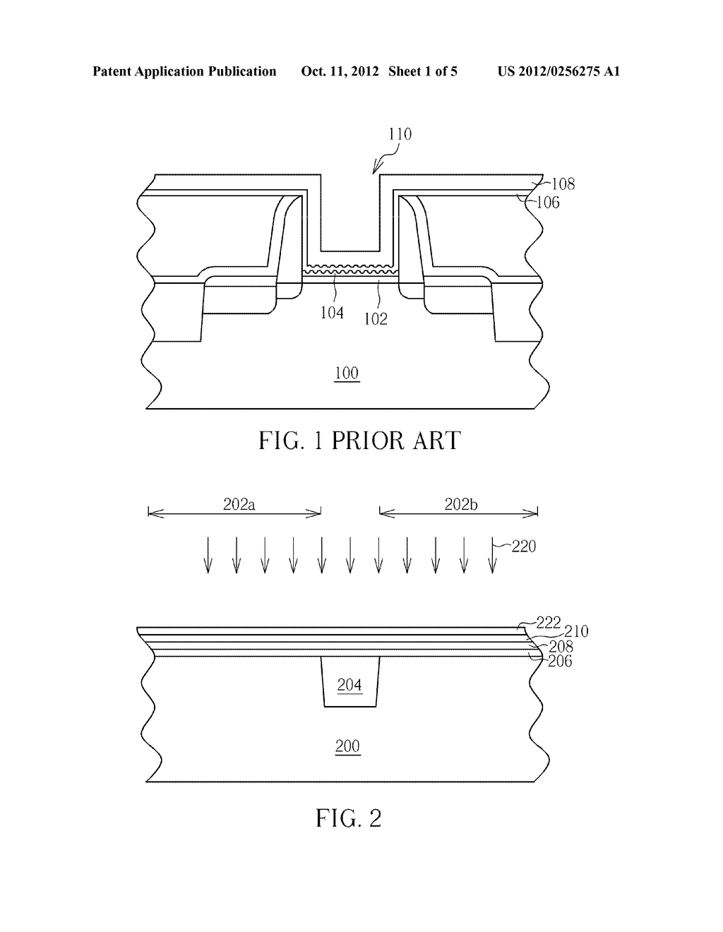 METAL GATE STRUCTURE AND MANUFACTURING METHOD THEREOF - diagram, schematic, and image 02